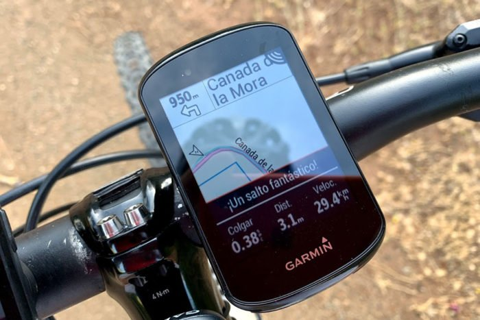 Garmin Edge 830 - Salto