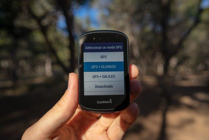 Garmin Edge 530 - Modos de GPS