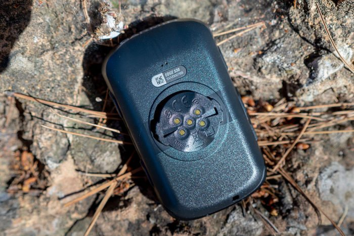 Garmin Edge 530 - Pines de batería
