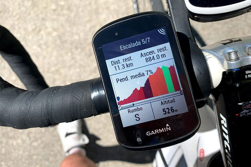Garmin Edge 530 - ClimbPro