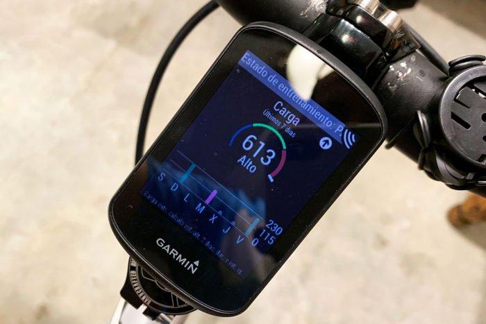 Garmin Edge 530 - Training Status