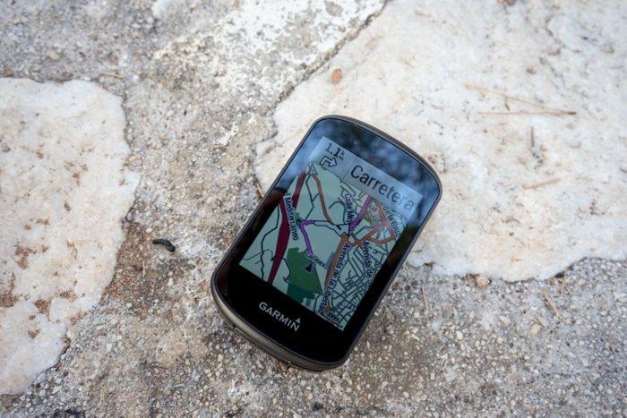 Garmin Edge 530 - Navegación y giro