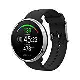Polar Ignite – Reloj de fitness con GPS integrado, pulsómetro de muñeca, guías de entrenamiento - hombre/mujer - negro M/L