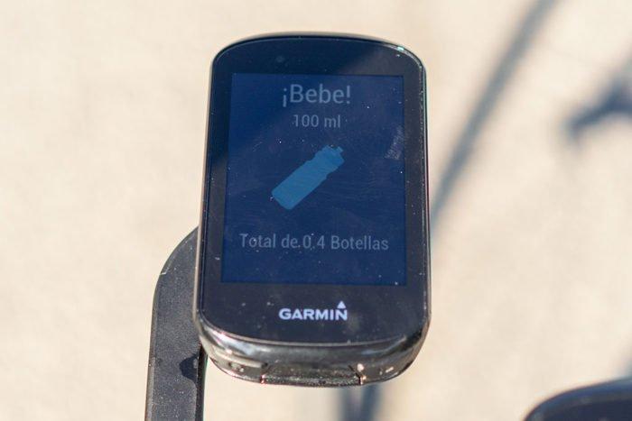 Garmin Edge 530 - Beber