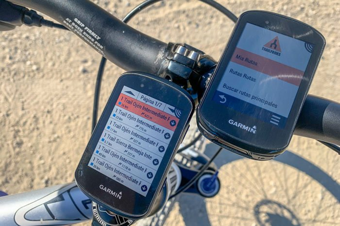 Garmin Edge - App Trailforks Connect IQ