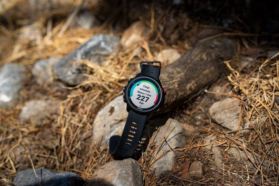 Garmin Forerunner 245 - Training load