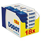 DODOT Sensitive Baby Wipes 18 Packs - 972 Wipes