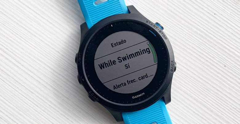 Heart rate in beta swimming