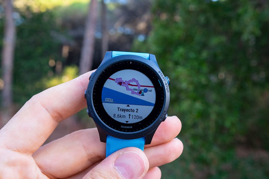 Garmin Forerunner 945 - Calculate Route