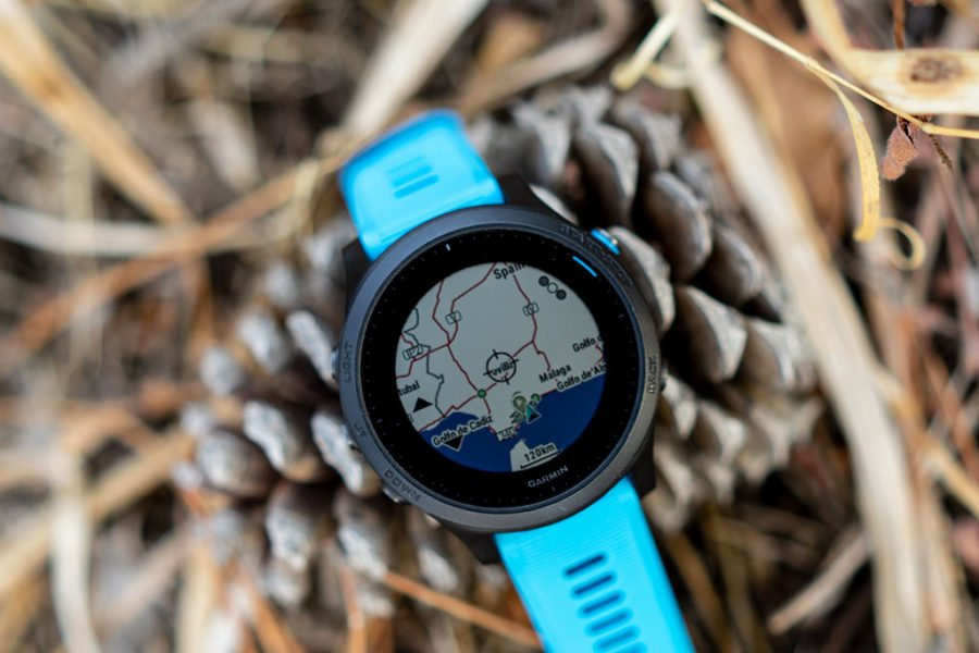 Garmin FR945 - Explore Map
