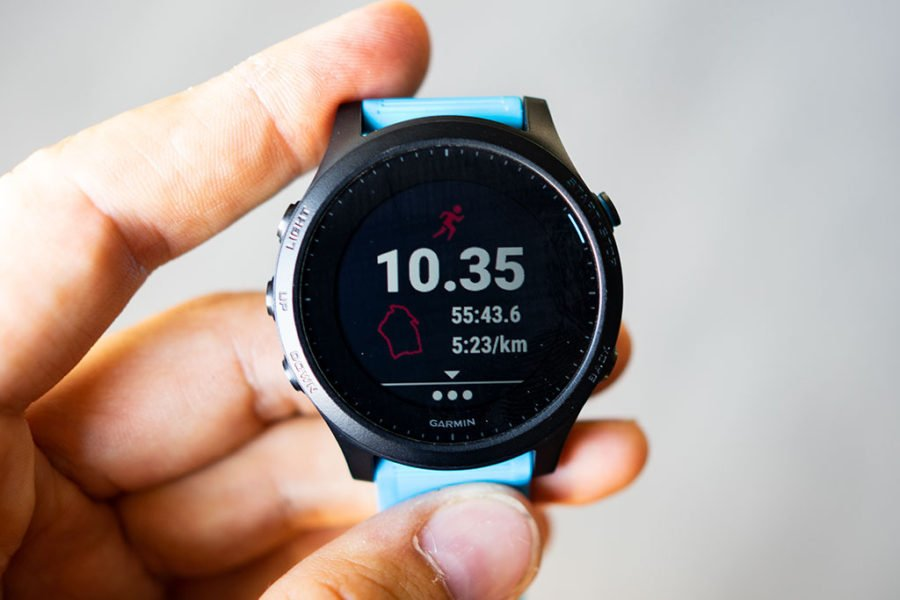 Garmin FR945 - Activity map