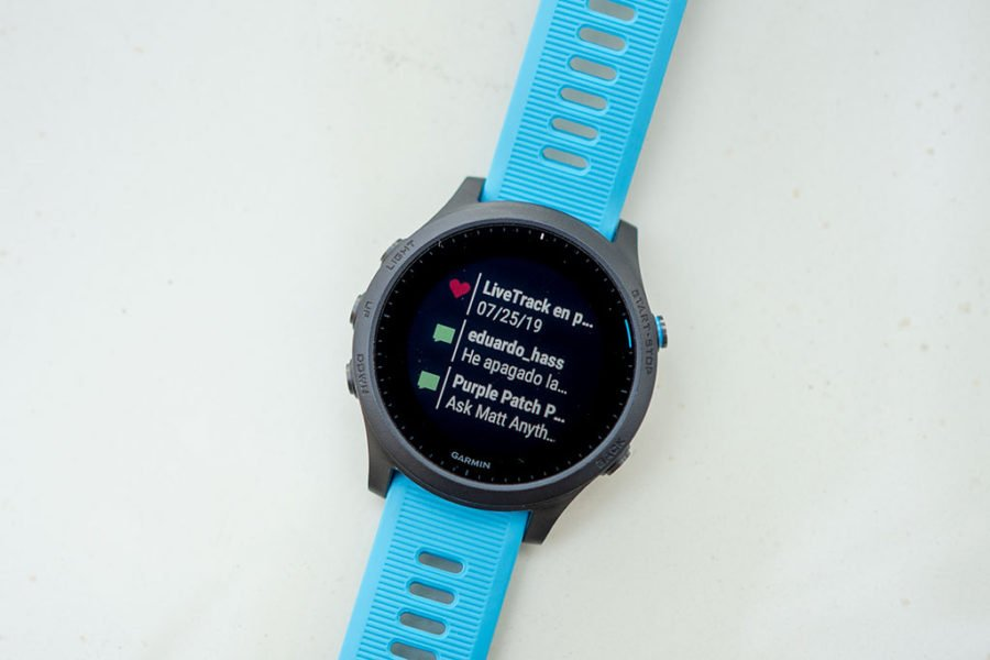 Garmin FR945 - Notifications