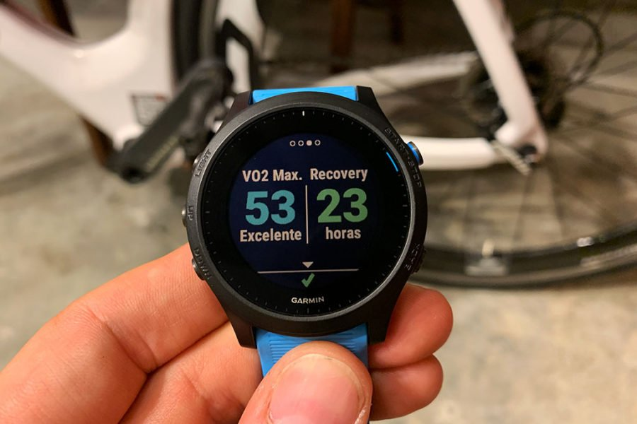 Garmin FR945 - Datos final de entrenamiento