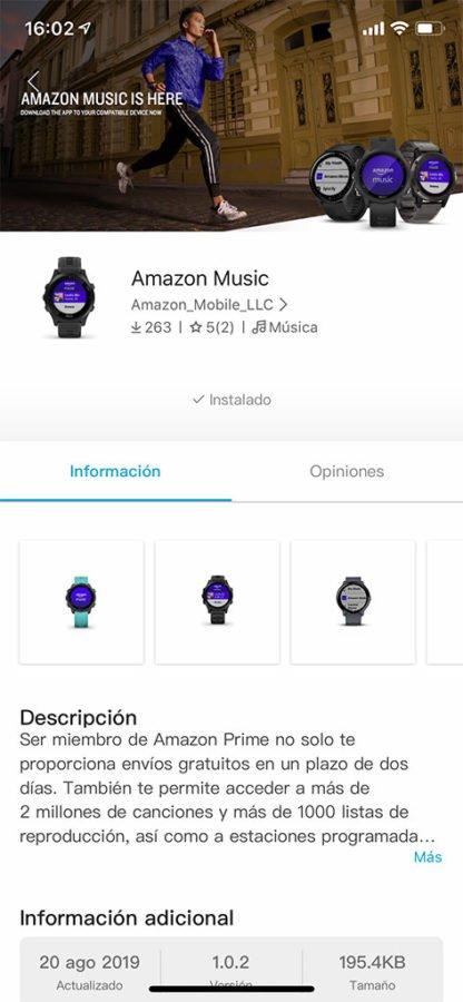 Amazon Music - Connec IQ