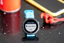Configurar Amazon Music en Garmin