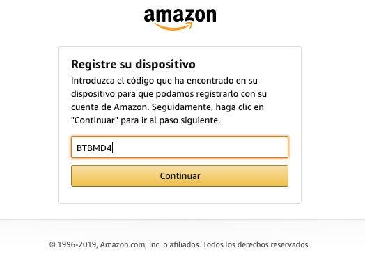 Configurar Amazon Music en Garmin