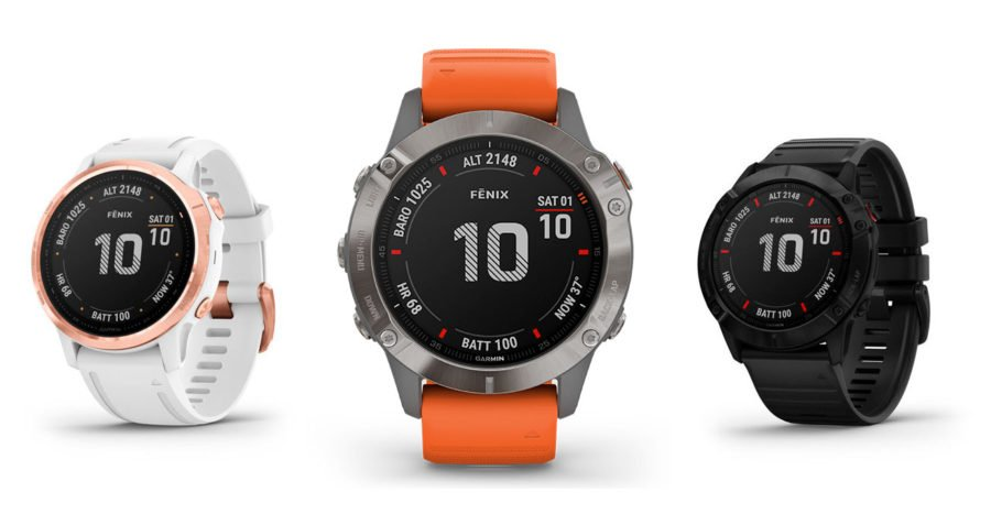 Garmin Fenix 6 - GPS Expedition