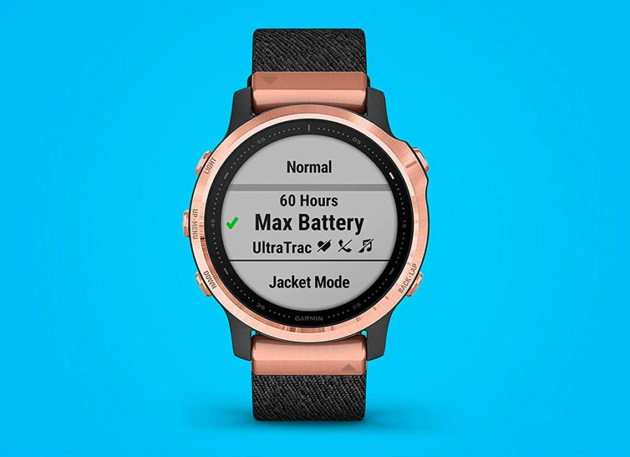 Garmin Fenix 6 - Battery Modes