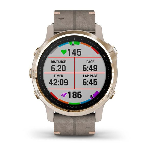 Garmin Fenix 6 - Data Display