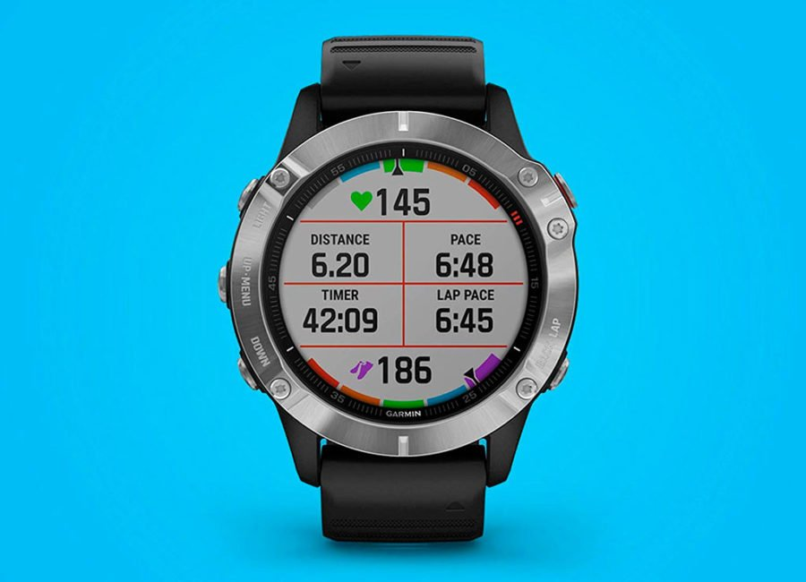 Garmin Fenix 6X - Display 6 data