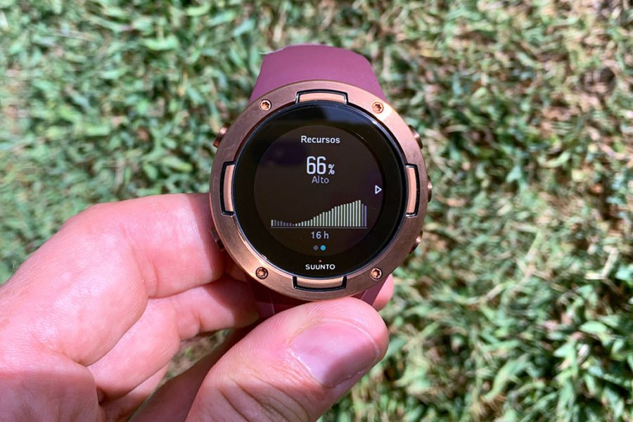 Suunto 5 - Recursos disponibles