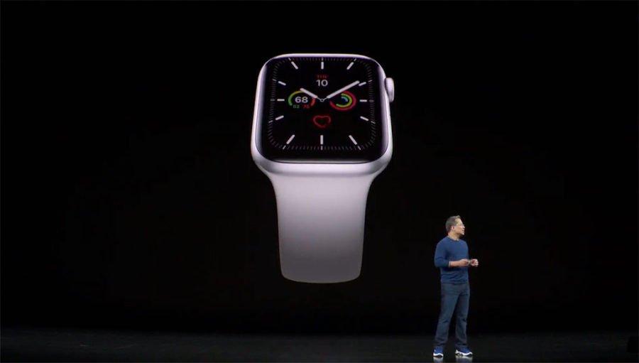 Apple Watch Series 5 - Pantalla siempre encendida