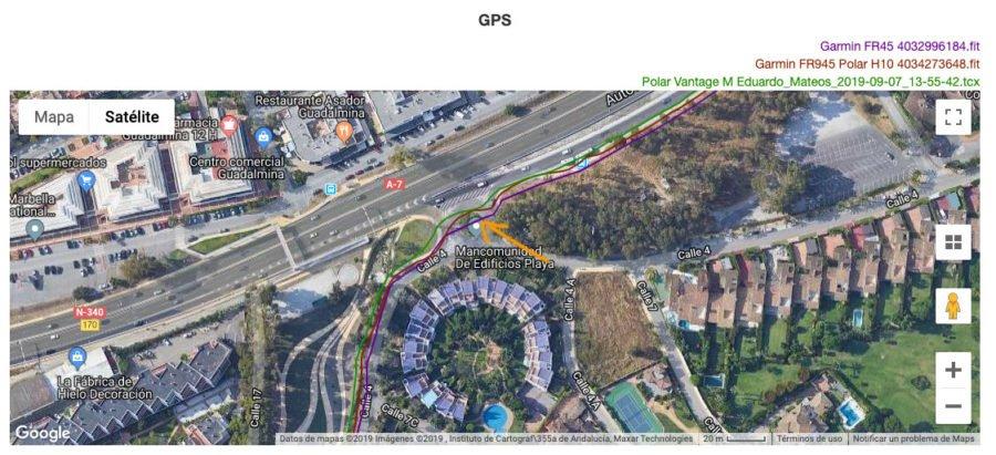 Garmin Fenix 6 - Forerunner 45 - GPS