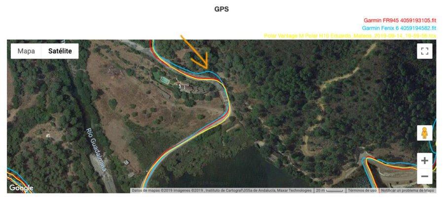 Garmin Fenix 6 - GPS