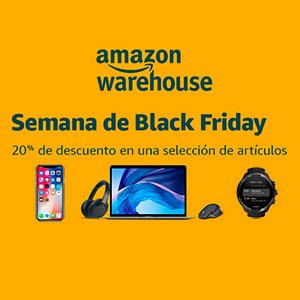 Descuento reacondicionados Amazon Black Friday