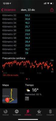 Apple Watch - Entreno sincronizado
