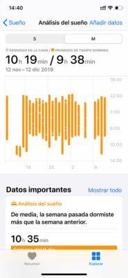 Apple Watch - Sueño