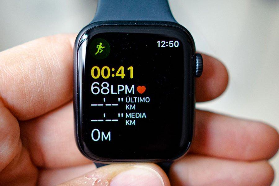 Apple Watch Series 5 - Pantalla entrenamiento
