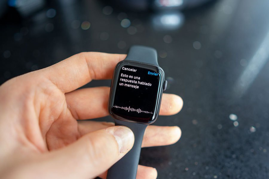 Apple Watch Series 5 - Respuesta mensaje