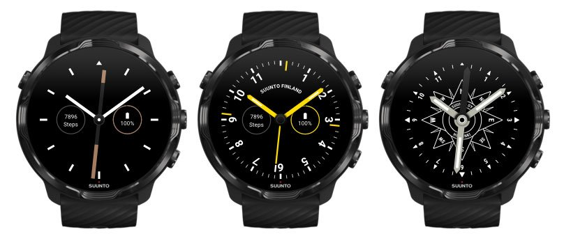 Esferas alternativas Suunto 7