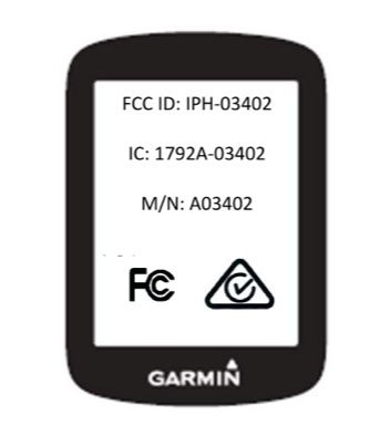 Garmin Edge 130 FCC