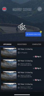 RGT - Group rides