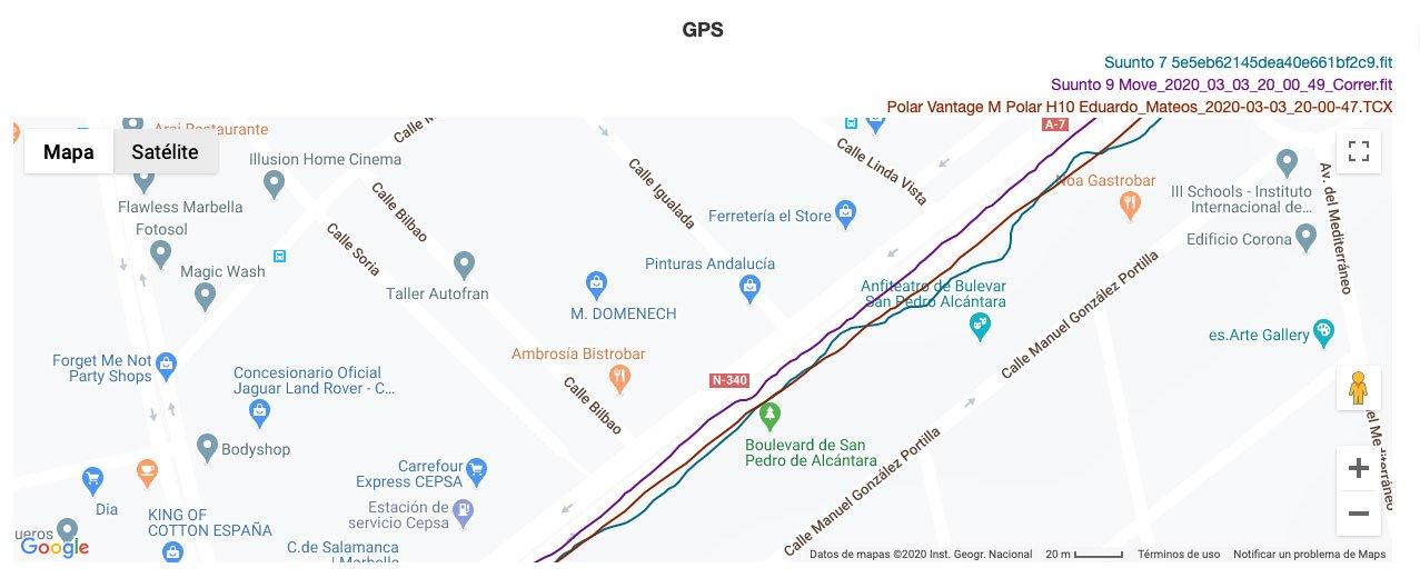 Comparativa GPS Suunto 7