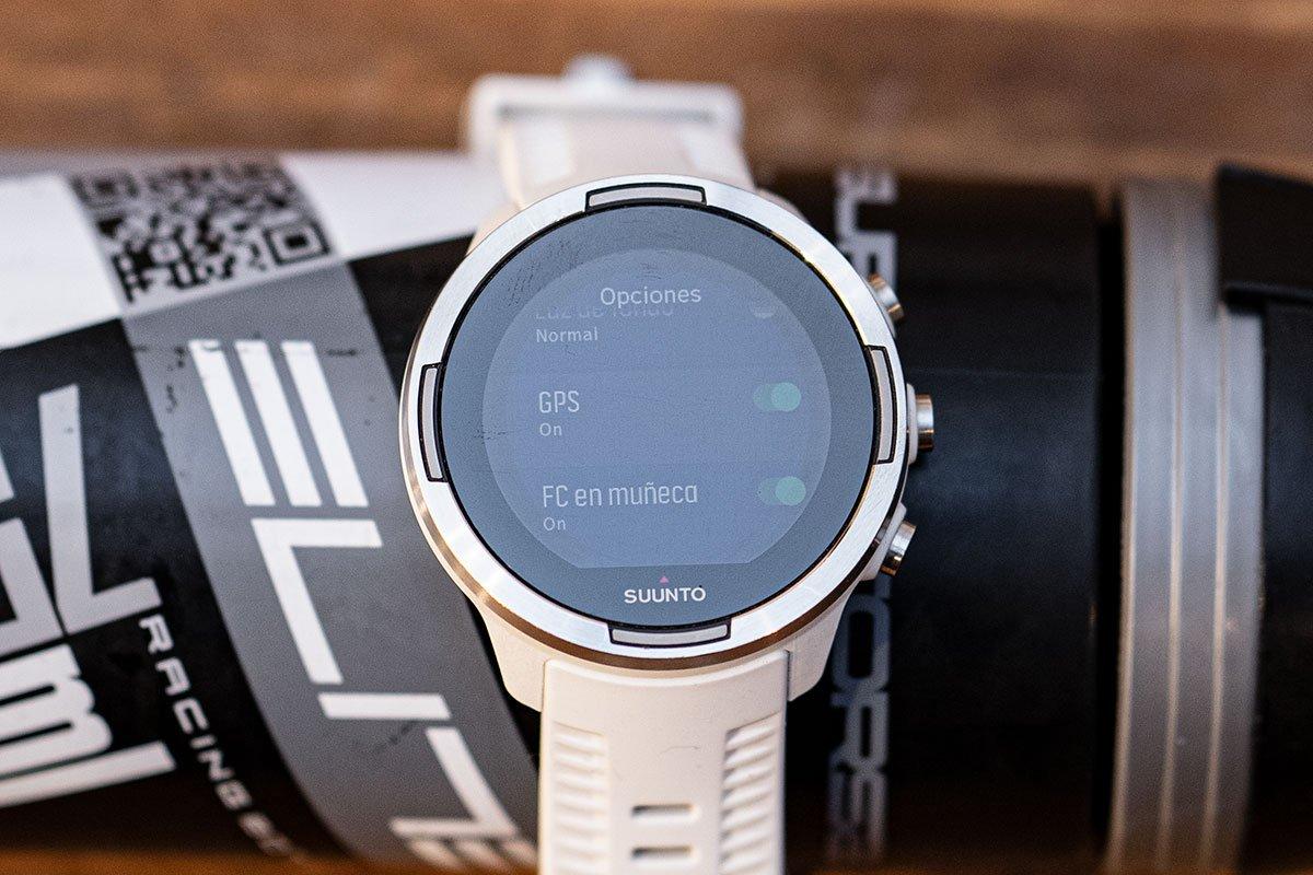 Suunto 9 - Desactivar GPS y WHR