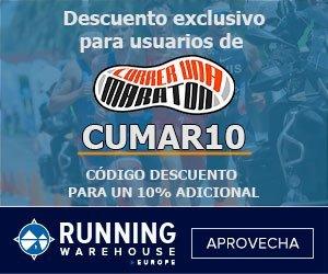 Código descuento RunningWarehouse
