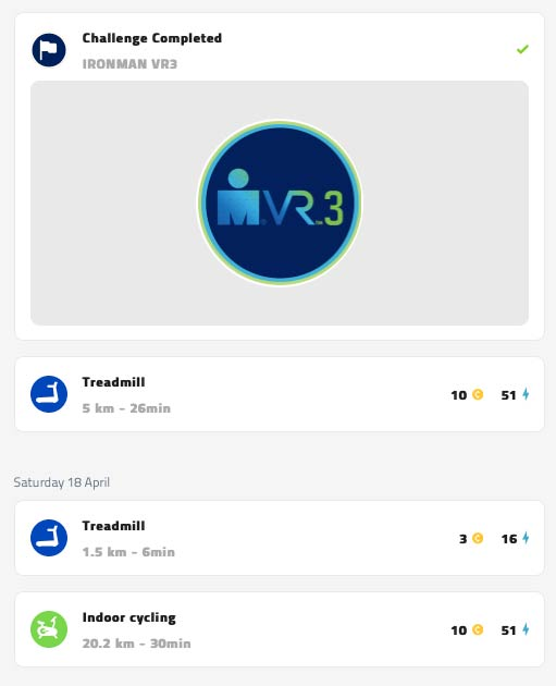 Ironman VR completado
