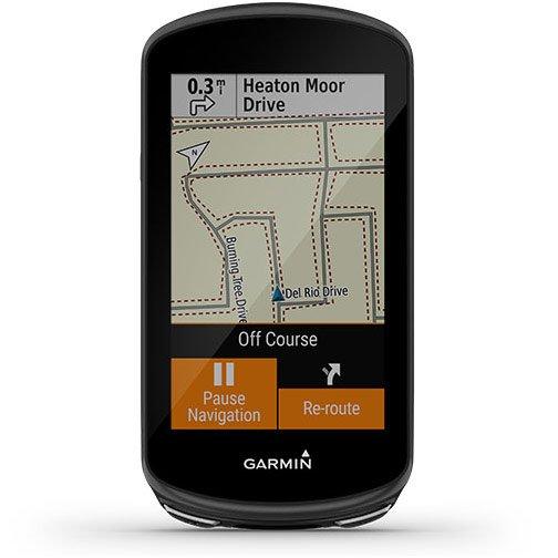 Garmin Edge 1030 Plus - Pausa de navegación