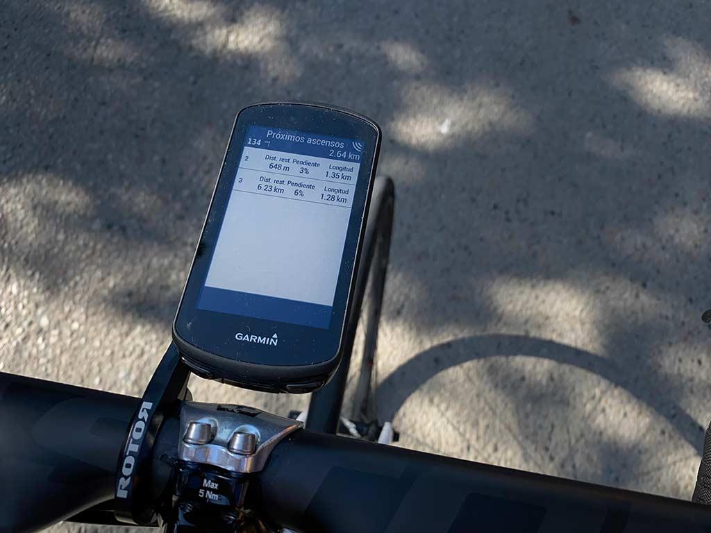 Garmin Edge 1030 Plus - Climb Pro