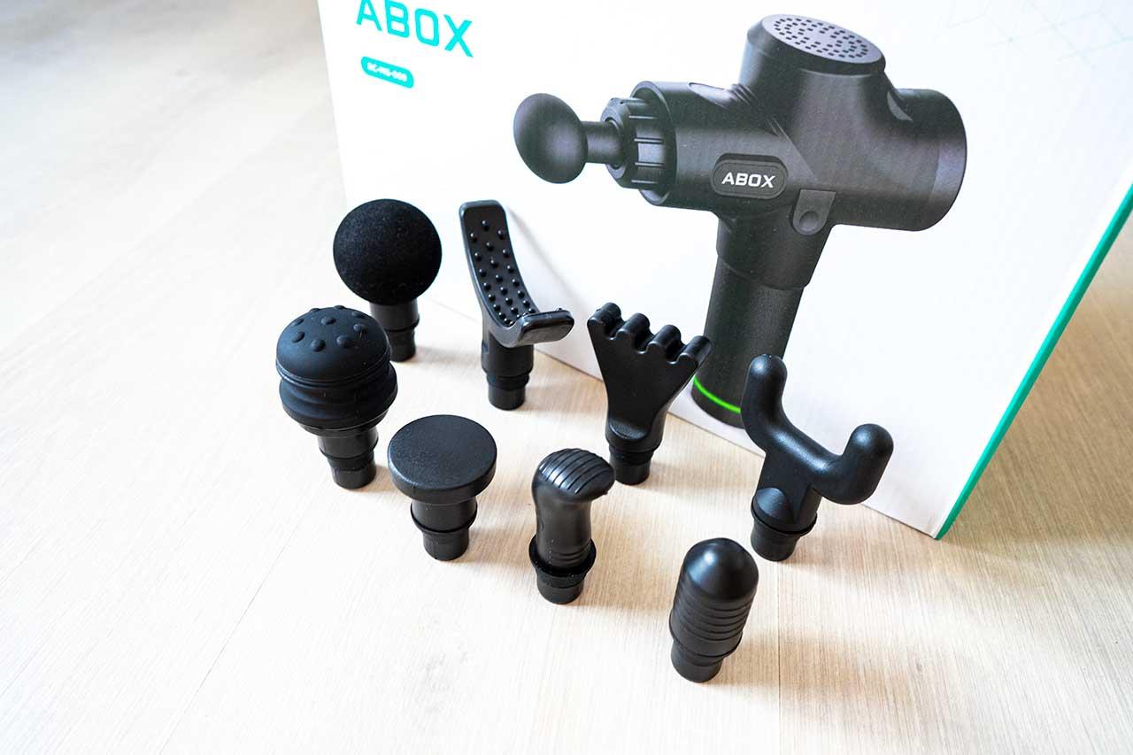 Accesorios pistola de masaje Abox