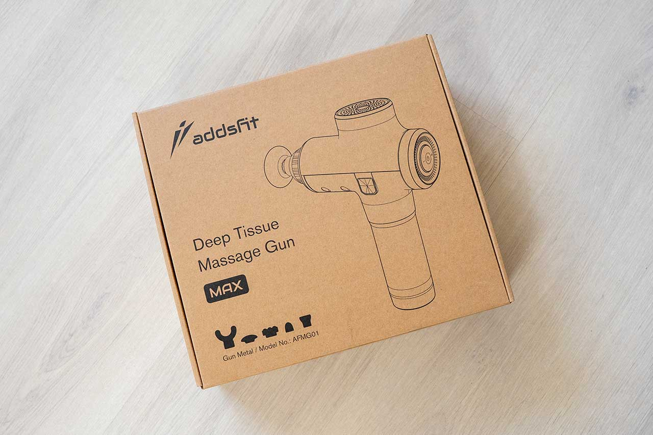 Addsfit - Pistola de masaje