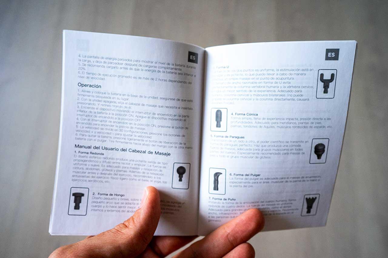 Manual de instrucciones Abox