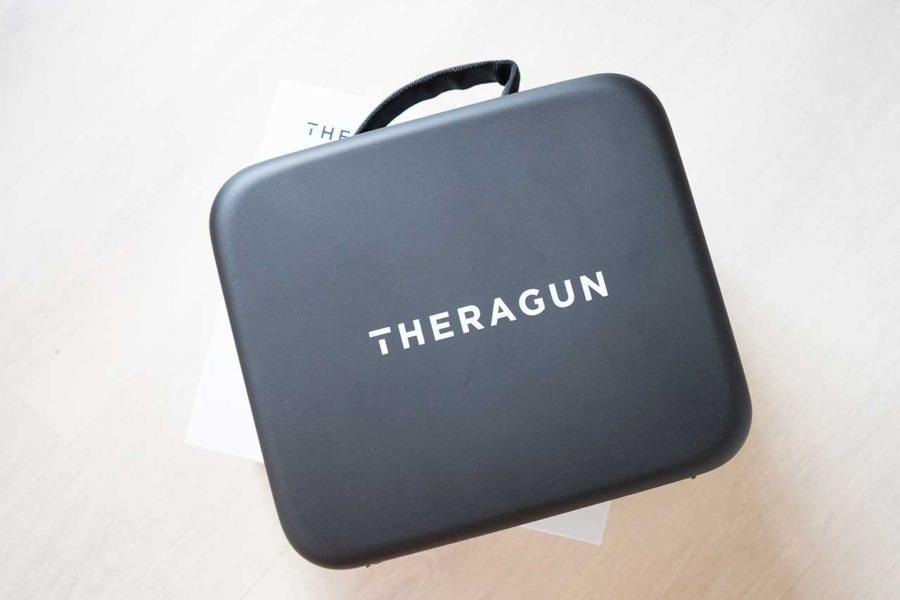 Pistola de masaje Theragun G3 maleta