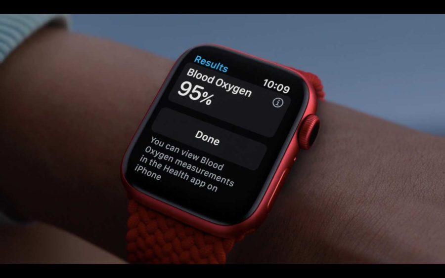 Apple Watch Series 6 - Sensor SpO2
