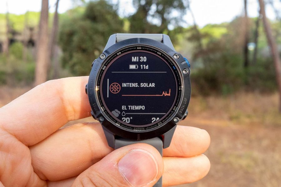 Garmin Fenix 6 Solar - Widget