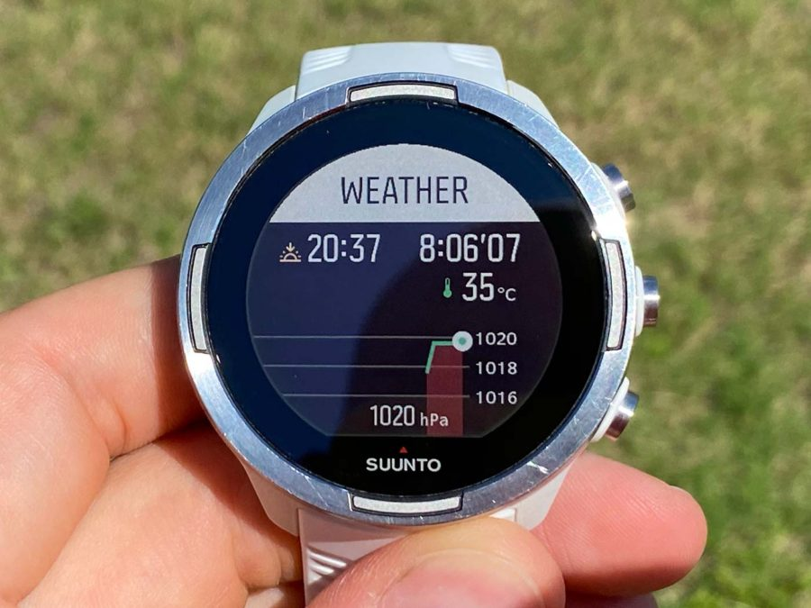 Suunto 9 - Weather