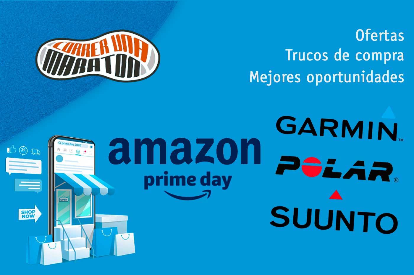 Prime Day Amazon Garmin Polar Suunto